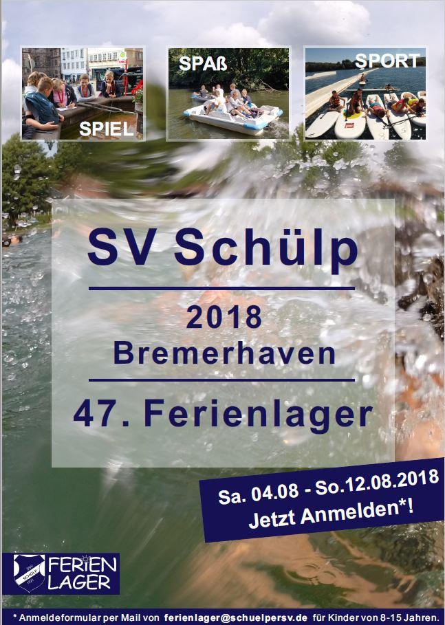 47. Ferienlager – 2018 Bremerhaven