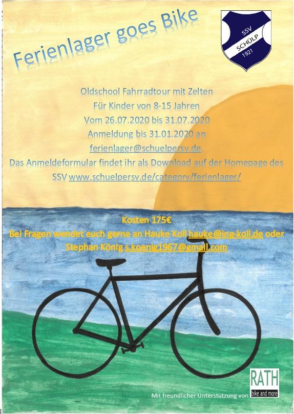 Ferienlager 2020 goes Bike